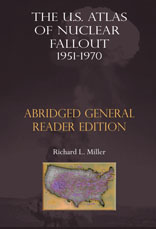 Book cover: The US Atlas of Nuclear Fallout Abridged General Reader Edition